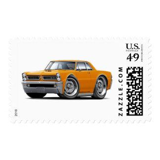 Coche del naranja de 1965 GTO Estampillas