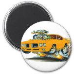 Coche del naranja de 1970 GTO Imanes Para Frigoríficos