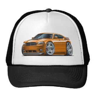 Coche del naranja de Daytona del cargador de Dodge Gorras De Camionero