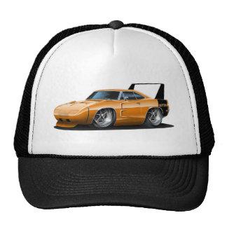 Coche del naranja de Dodge Daytona Gorras De Camionero
