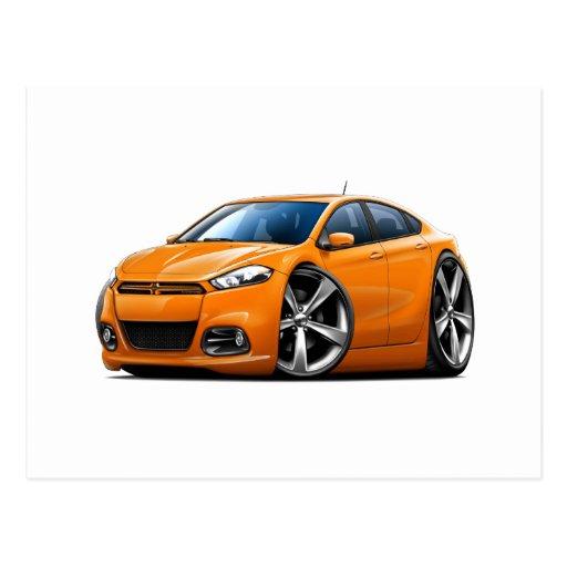 Coche del naranja del dardo de 2013 Dodge Postal