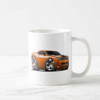 Coche del naranja del desafiador de Dodge Taza