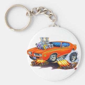 Coche del naranja del juez de 1969 GTO Llavero
