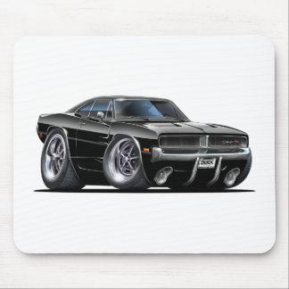 Coche del negro del cargador de Dodge Alfombrilla De Ratones