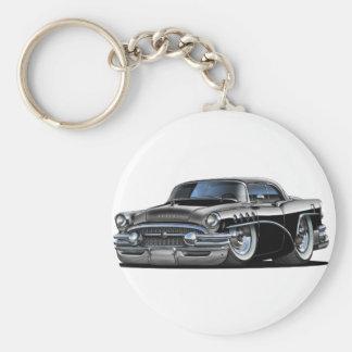 Coche del negro del siglo de Buick Llavero Redondo Tipo Pin