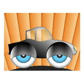 Coche del ojo postal