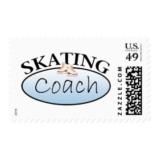 Coche del patinaje artístico sellos