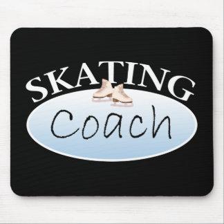 Coche del patinaje artístico tapete de raton