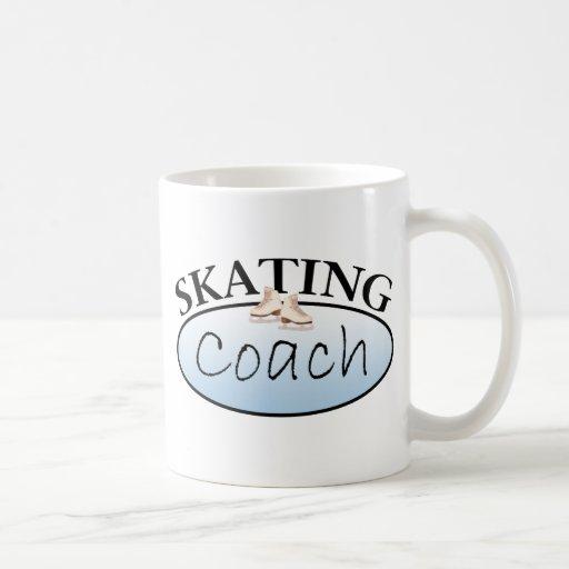 Coche del patinaje artístico taza