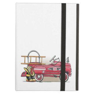 Coche del pedal del coche de bomberos