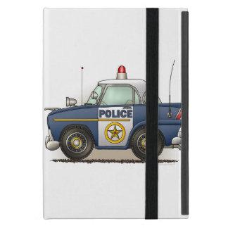 Coche del poli de Crusier de la policía del coche iPad Mini Fundas