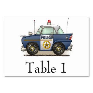 Coche del poli de Crusier de la policía del coche