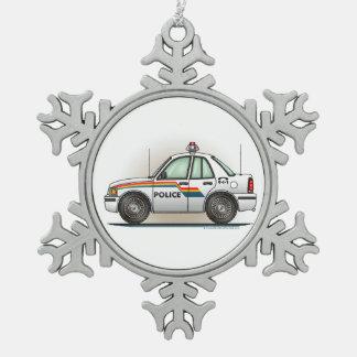 Coche del poli del coche del crucero de la policía adornos