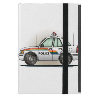 Coche del poli del coche del crucero de la policía iPad mini funda