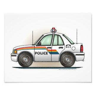 Coche del poli del coche del crucero de la policía cojinete