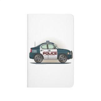 Coche del poli del coche del interceptor de la pol cuadernos grapados