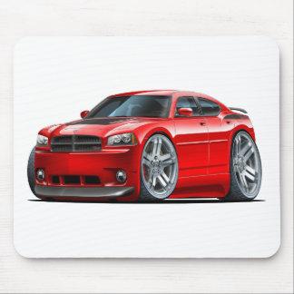 Coche del rojo de Daytona del cargador de Dodge Alfombrillas De Ratones