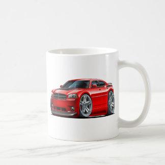 Coche del rojo de Daytona del cargador de Dodge Tazas