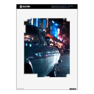 Coche del vintage de la impulsión del océano iPad 3 skins