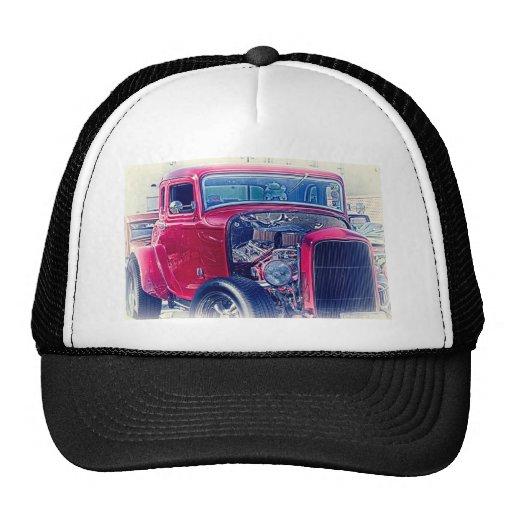 "Coche del vintage "" del ""coche clásico"" del ""coche gorro de camionero"