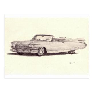 Coche del vintage: Eldorado de Cadillac Postal