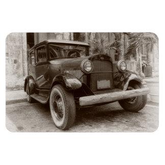 Coche del vintage imanes flexibles