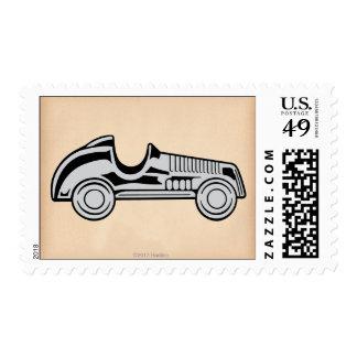 Coche del vintage sellos