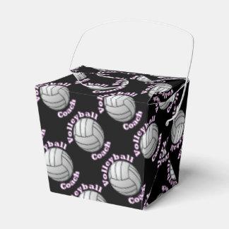 Coche del voleibol cajas para regalos de fiestas