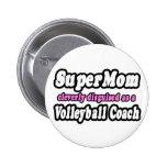 Coche del voleibol del SuperMom… Pin