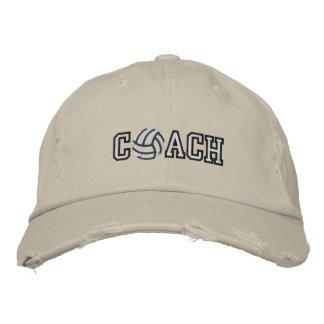 Coche del voleibol gorra de beisbol