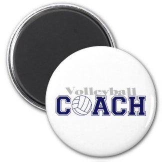 Coche del voleibol imán redondo 5 cm
