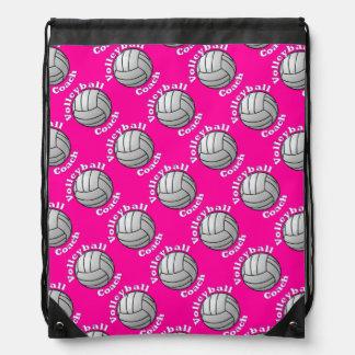 Coche del voleibol mochilas