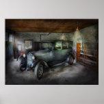 Coche - el garaje de Granpa Poster