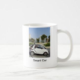 Coche elegante taza de café