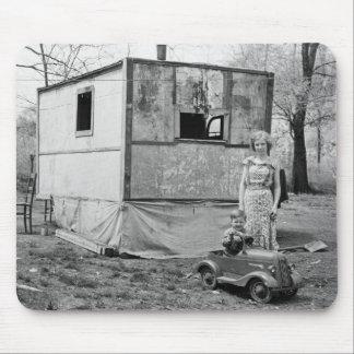 Coche en la Gran Depresión, los años 30 del pedal  Tapete De Ratón
