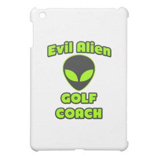 Coche extranjero malvado del golf