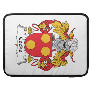 Coche Family Crest Sleeves For MacBook Pro