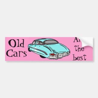 Coche fresco de los años 50 pegatina para auto
