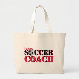 Coche futuro del fútbol rojo bolsa