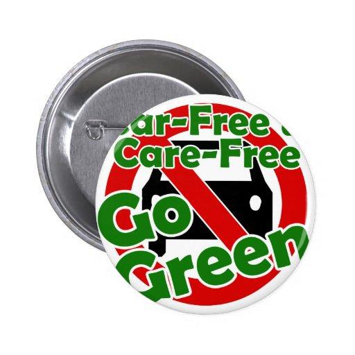 coche libre y cuidado libre - va el verde pins