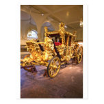 Coche Londres del estado del oro Postales