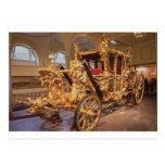 Coche Londres del estado del oro Tarjetas Postales