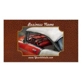 Coche - los años 50 clásicos tarjetas de visita