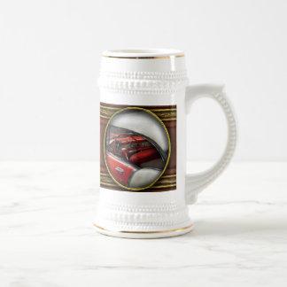 Coche - los años 50 clásicos taza de café