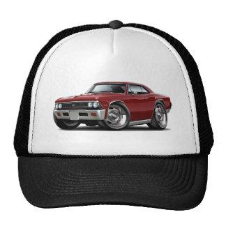 Coche marrón 1966 de Chevelle Gorras De Camionero