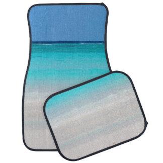 Coche Matts de la playa de Sandy Alfombrilla De Auto