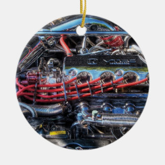Coche - motor - intestinos del coche ornamento de navidad