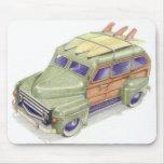 Coche Mousepad de la resaca del juguete Alfombrillas De Ratones