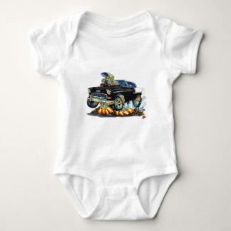 Coche negro 1955 de Chevy Belair Body Para Bebé