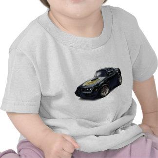 Coche negro 1979-81 del transporte camisetas